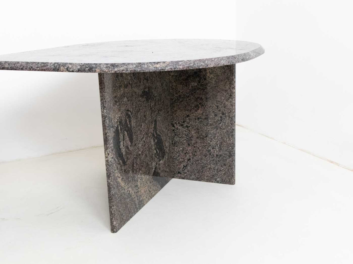Vintage marble nesting table