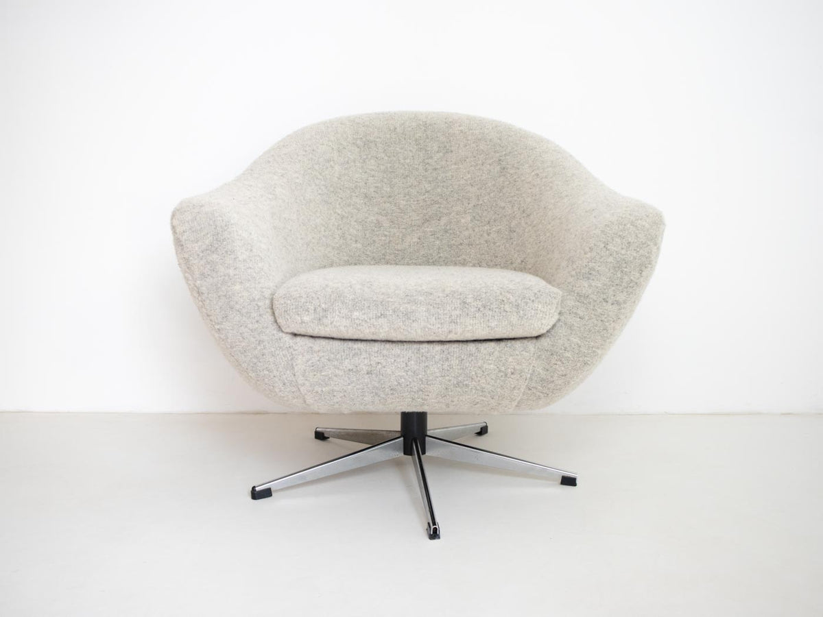 mid century modern egg chair