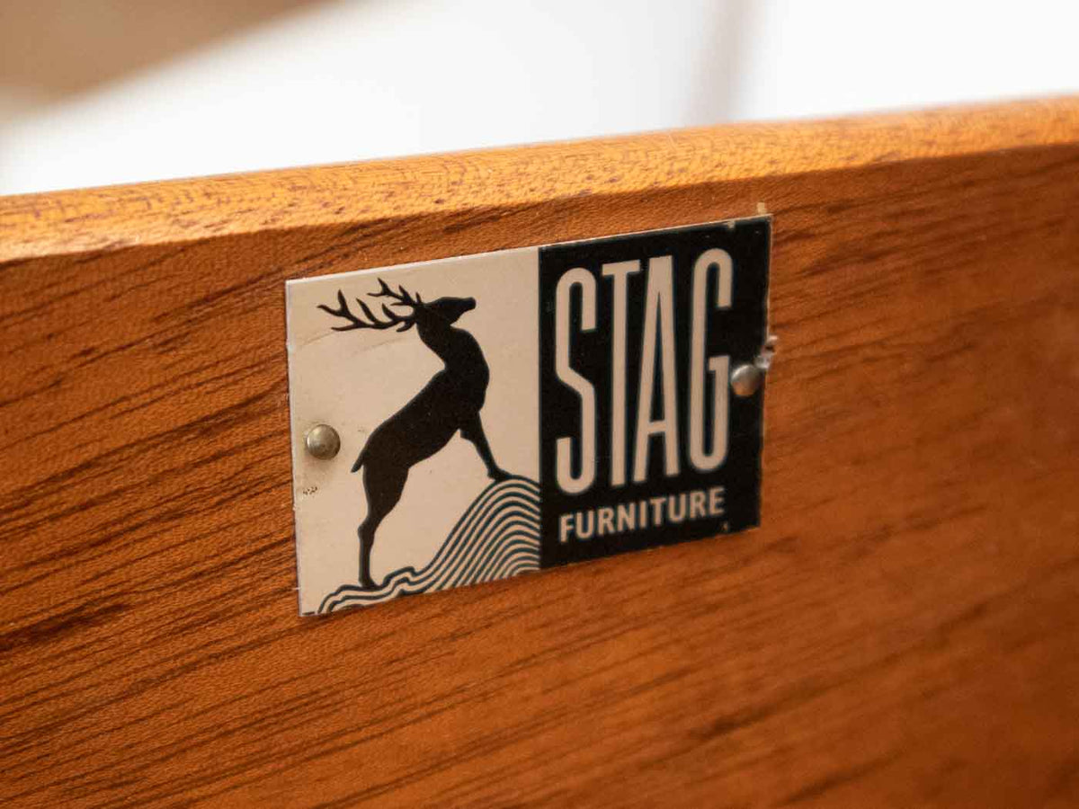 Mid Century Stag Dressing Table