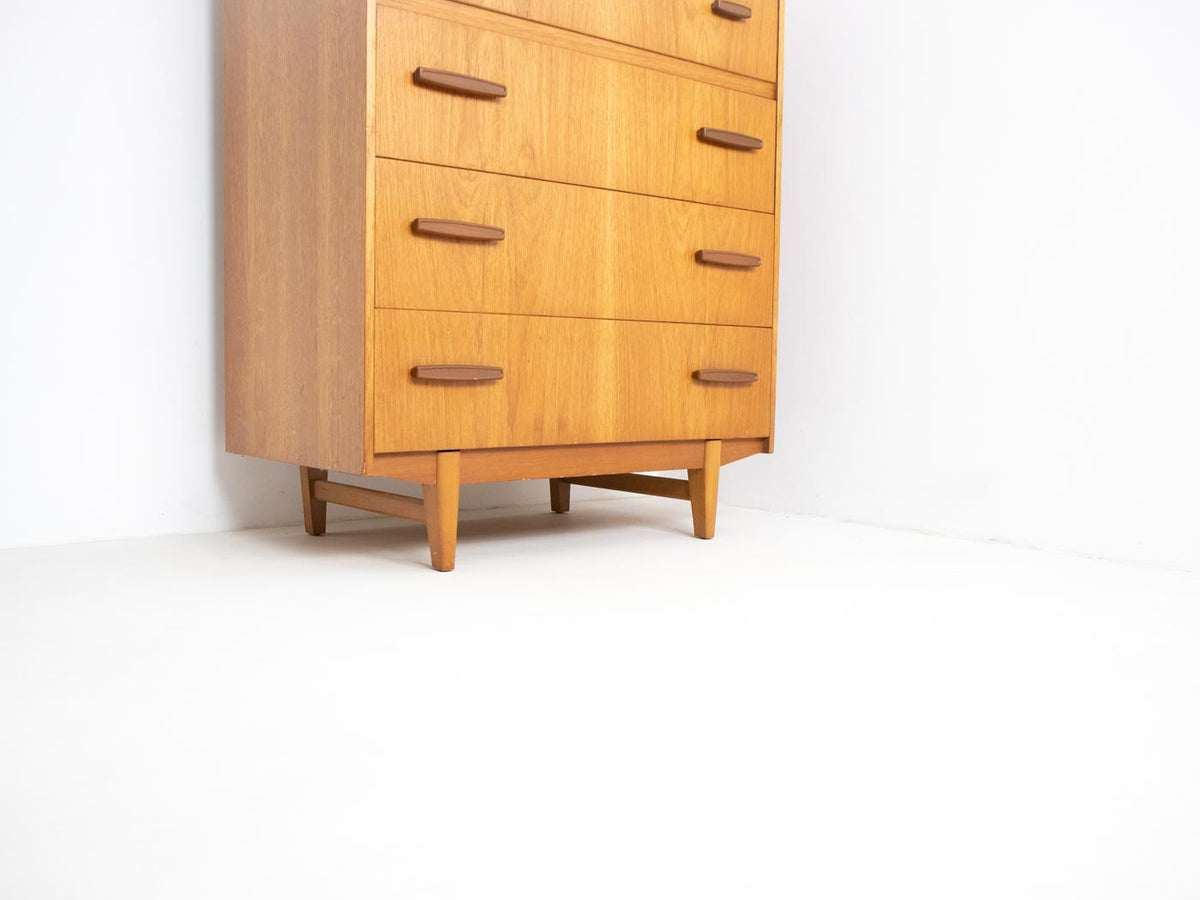 Vintage teak chest of drawers London