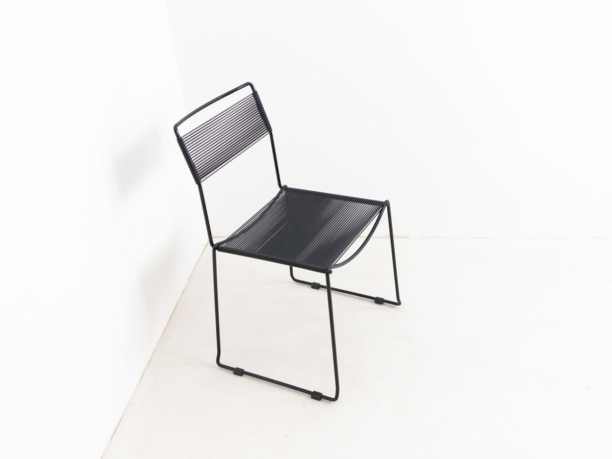 Belotti black spaghetti chair