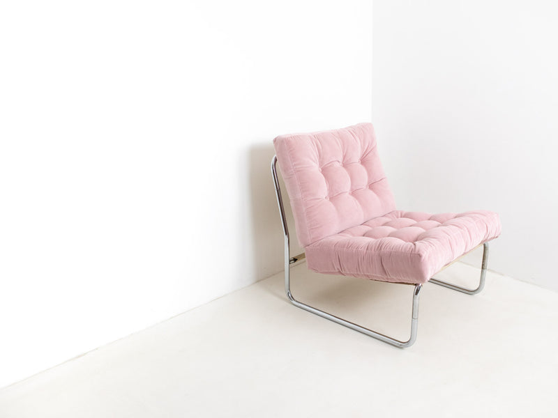 Dusty pink armchair