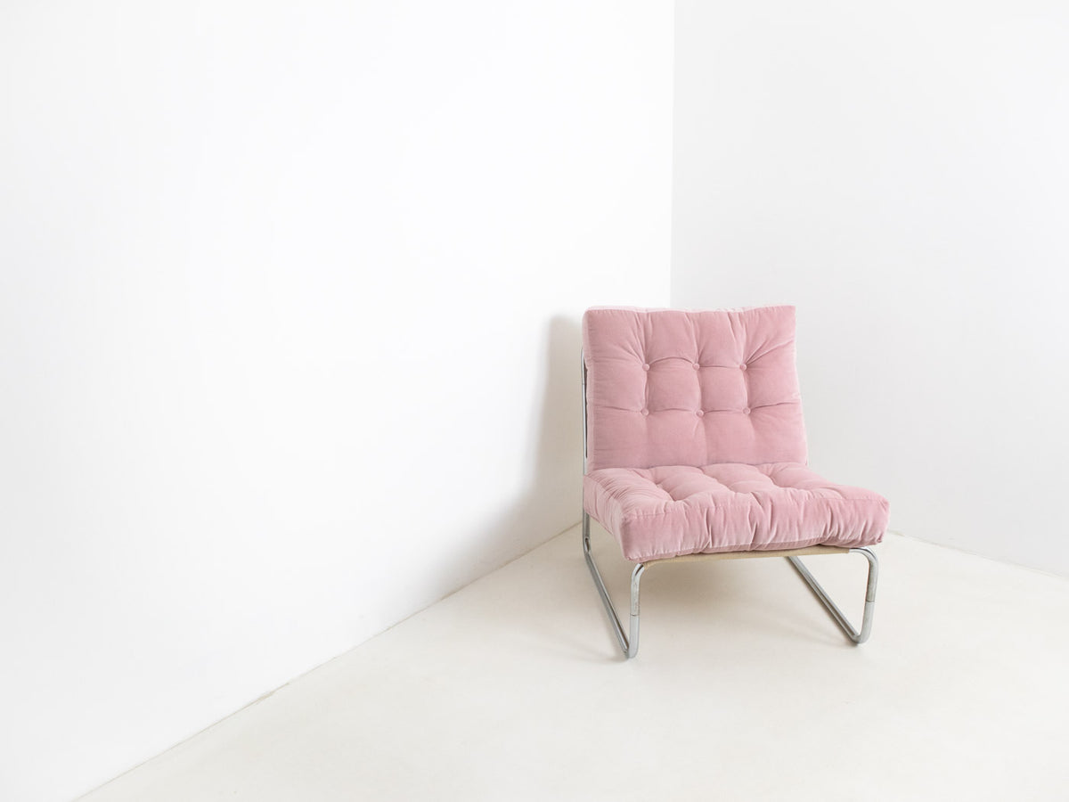 Pink lounge chair London