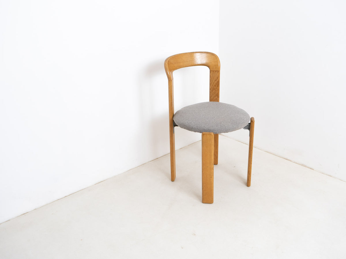 Mid century modern stacking chair