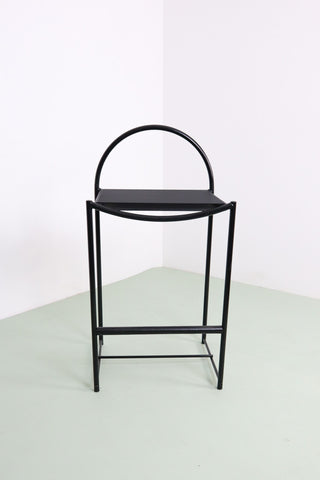 Black spaghetti stool by Belotti