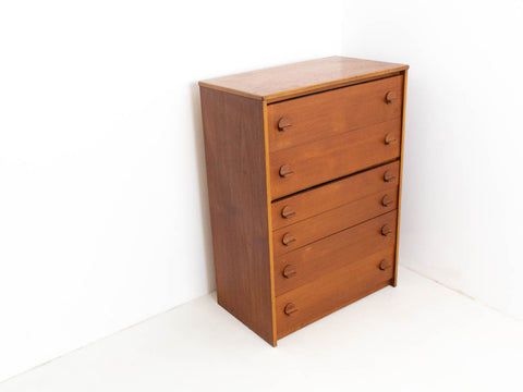 Vintage Stag Tallboy Chest of Drawers