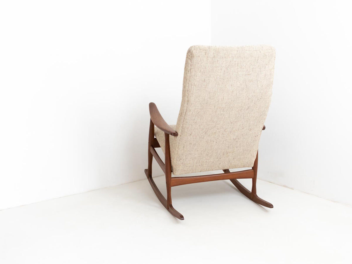 Vintage Danish rocking chair