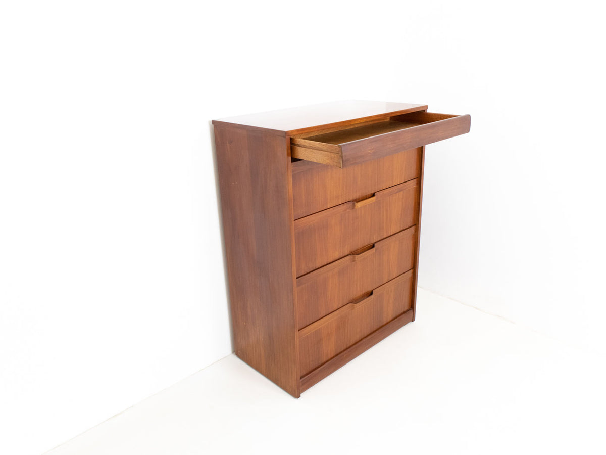 Mid Century Tallboy Chest of Drawers