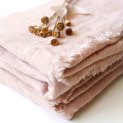 Textured Cotton Styling Fabric - French Blush