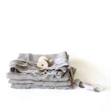 Grey Fantail - Silk Styling Fabric