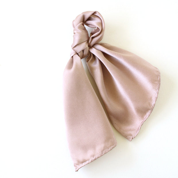 Silk Accessory Scarf - Mauve