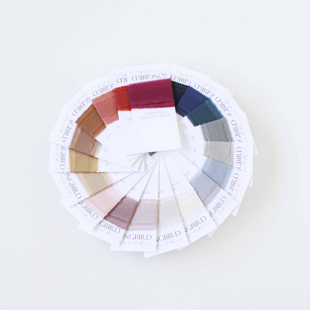 Colour Swatch - Silk Ribbon