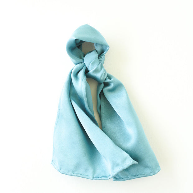 Silk Accessory Scarf - Tiffany Turquoise