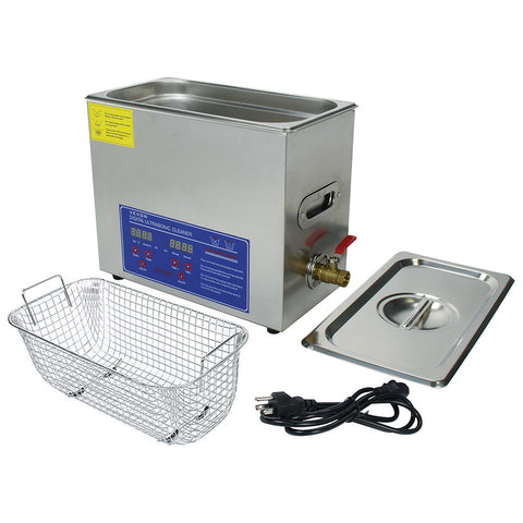 Ultrasonic Cleaner Small 1 Gallon Capacity