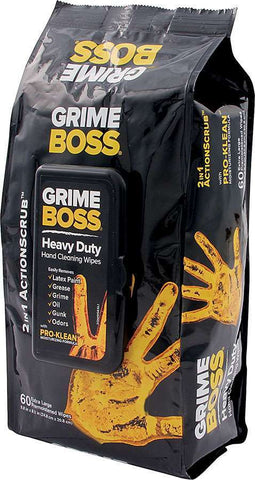 Cleaning Wipes 60pk Grime Boss