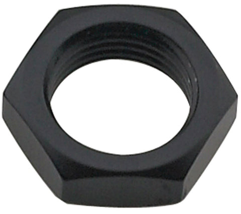 Bulkhead Nut #6 Black