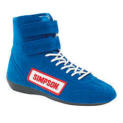 High Top Shoes 8 Blue