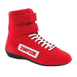 High Top Shoes 9 Red