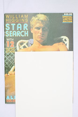 William Higgins Star Search ~ Special Limited Edition Vintage UK Reprint Gay Porn Magazine Leather Motobike