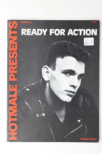 Ready For Action #6 1980 Vintage Gay Interest Lifestyle Magazine Poster Hotmale
