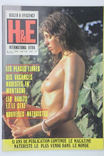 Health And Efficiency International Extra Naturist Magazine Number 9 French Edition