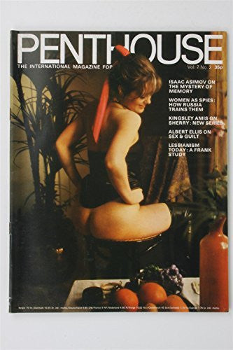 Penthouse Magazine Vol 7 #2 1972 Celia Starr Sharon Bailey Vintage UK Glamour