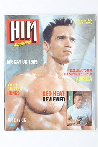 Him Magazine #20 1989 ARNOLD SCHARWZENEGGER Vintage UK Gay Interest Lifestyle