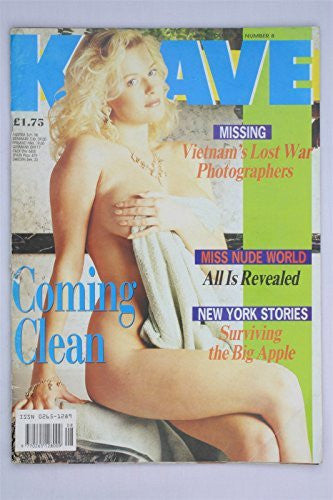 Knave Magazine Vol 23 #8 1991 Trine Michelson Men's Adult Glamour UK Daily Sport