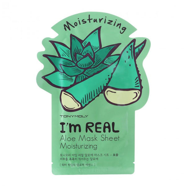 TonyMoly I'm Real Aloe Mask Sheet Moisturizing
