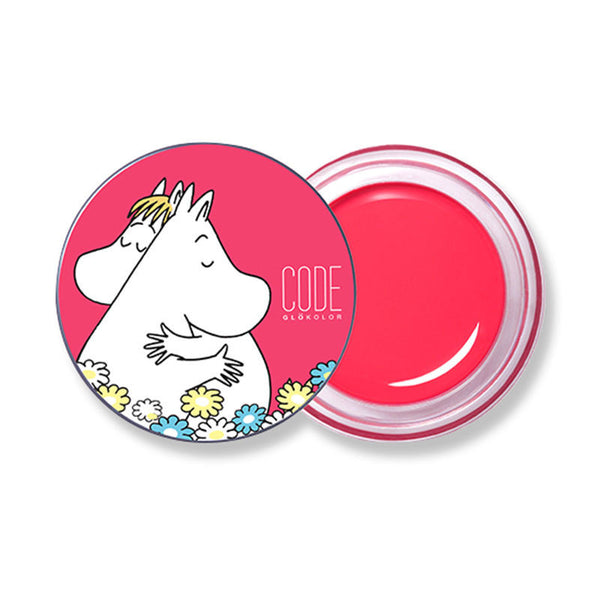 Code Glokolor x Moomin Limited Edition Lip balm, rose pink