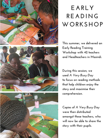 Early reading workshop in words and pictures
