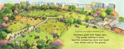 A visit to City Farm Picture book fields