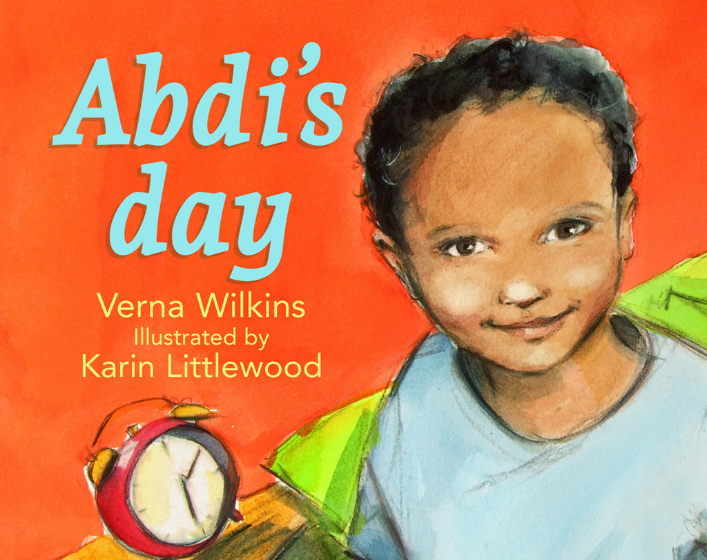Children's picture book cover with smiling Somali boy
