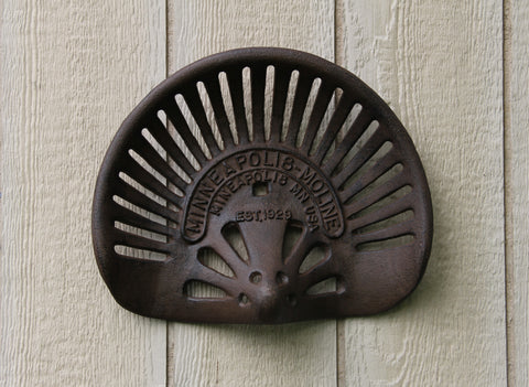 Minneapolis Moline Tractor Seat Decoration, Country Wall Decor, Cabin Decorations