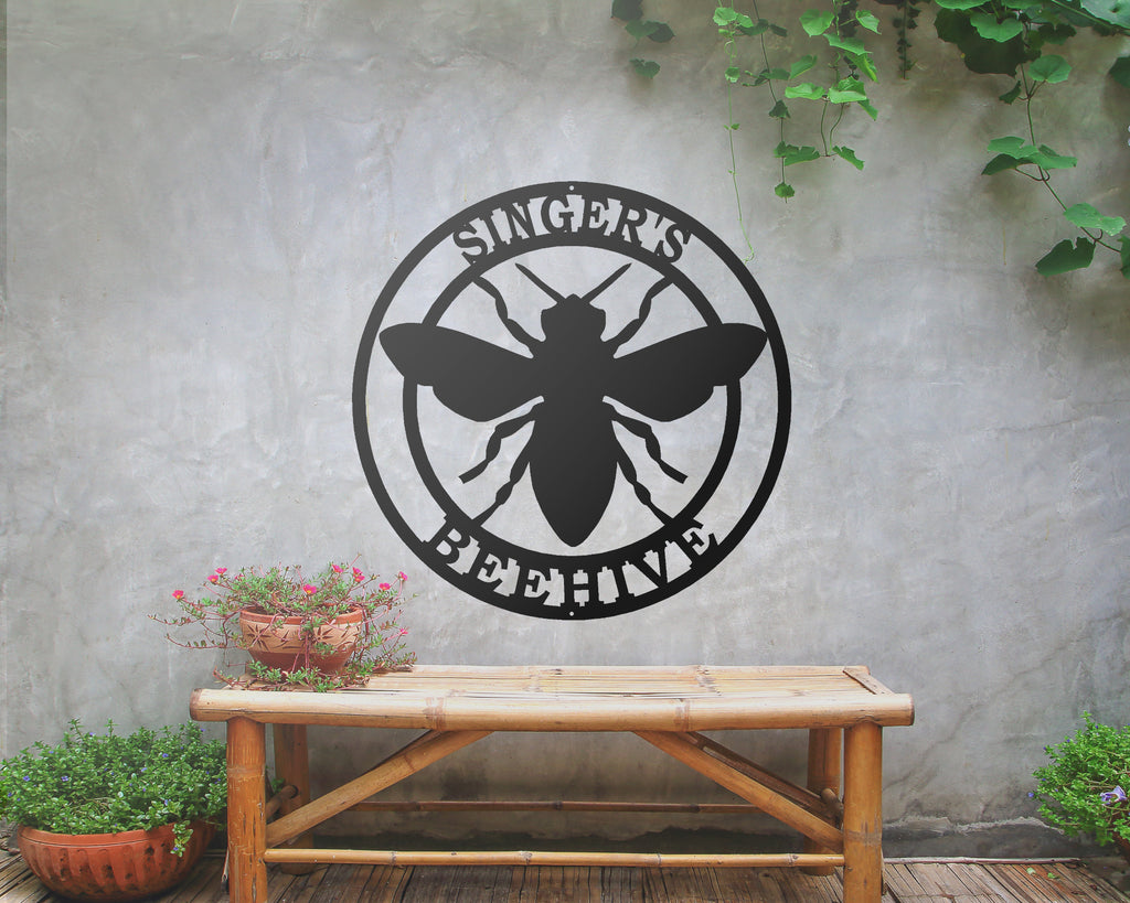 Honey Bee Personalized Sign