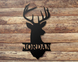 Deer Head custom sign