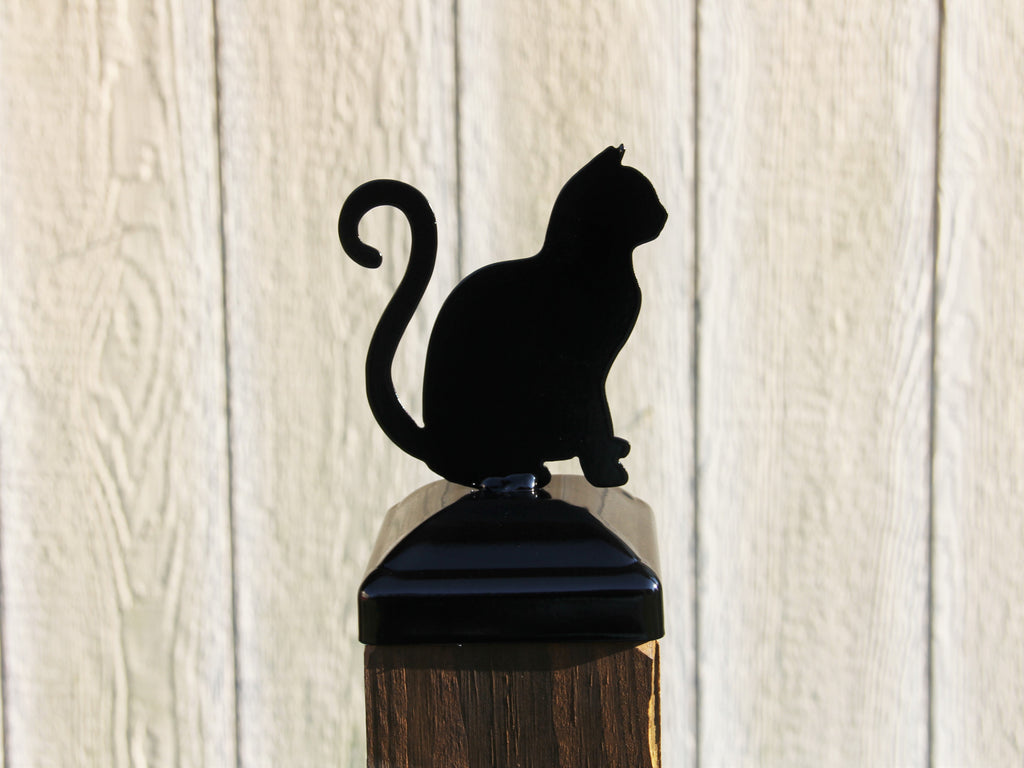 Cat Post Cap for 4x4 Wood Post