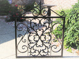 Onamental Iron Gate, New Orleans Style Gate Door