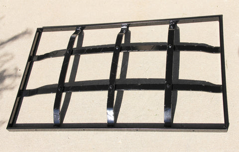 Custom Window Cage for Street Level Windows