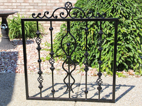 Onamental Iron Gate, Whimsical Style Gate Door