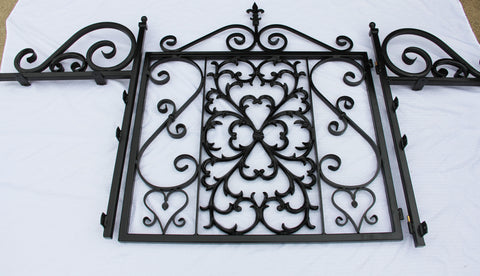 New Orleans Style gate with custom sides