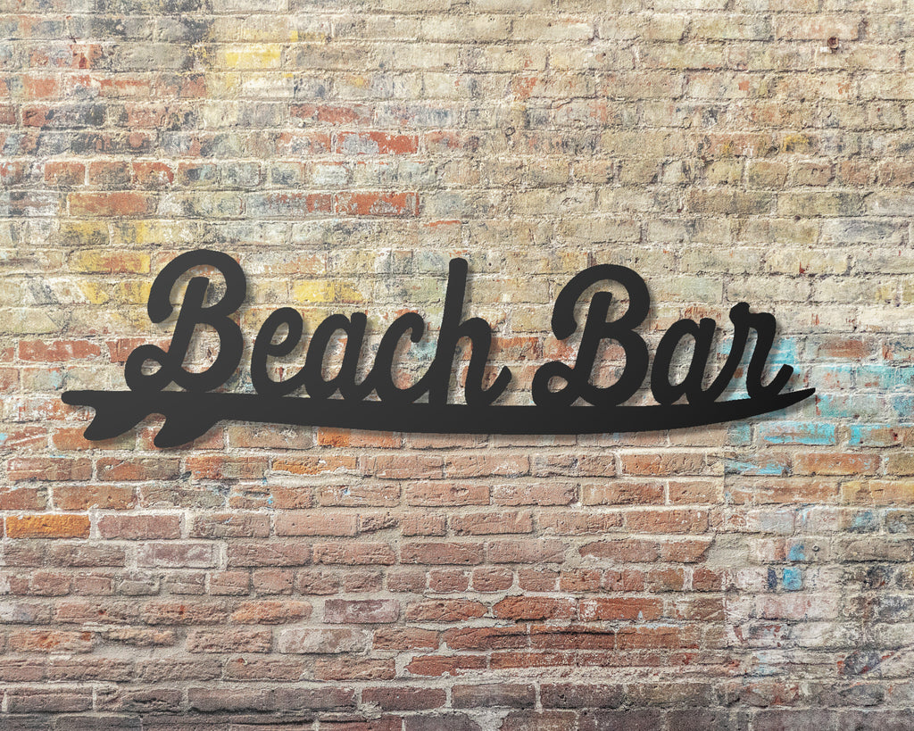 Beach Bar Tiki Bar decor