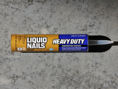 Construction Adhesive, Liquid Nails Brand