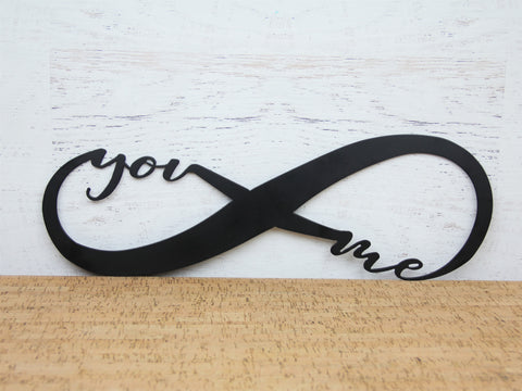Infinity you and me sign