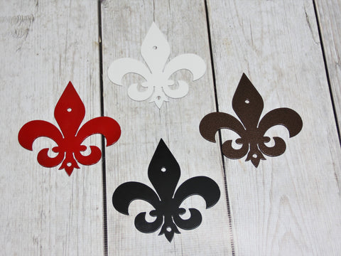Metal Fleur De Lis, Various sizes and Colors