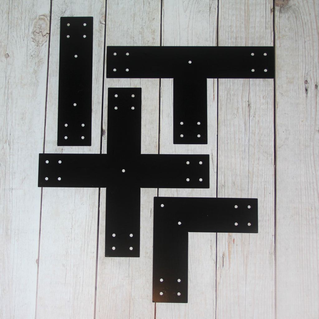 Post Brackets For 6x6 Dimensional Lumber T L X And Straight Brackets Madison Iron And Wood