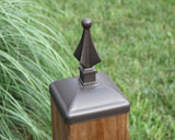 Bronze 6x6 Post Cap for Mailbox post