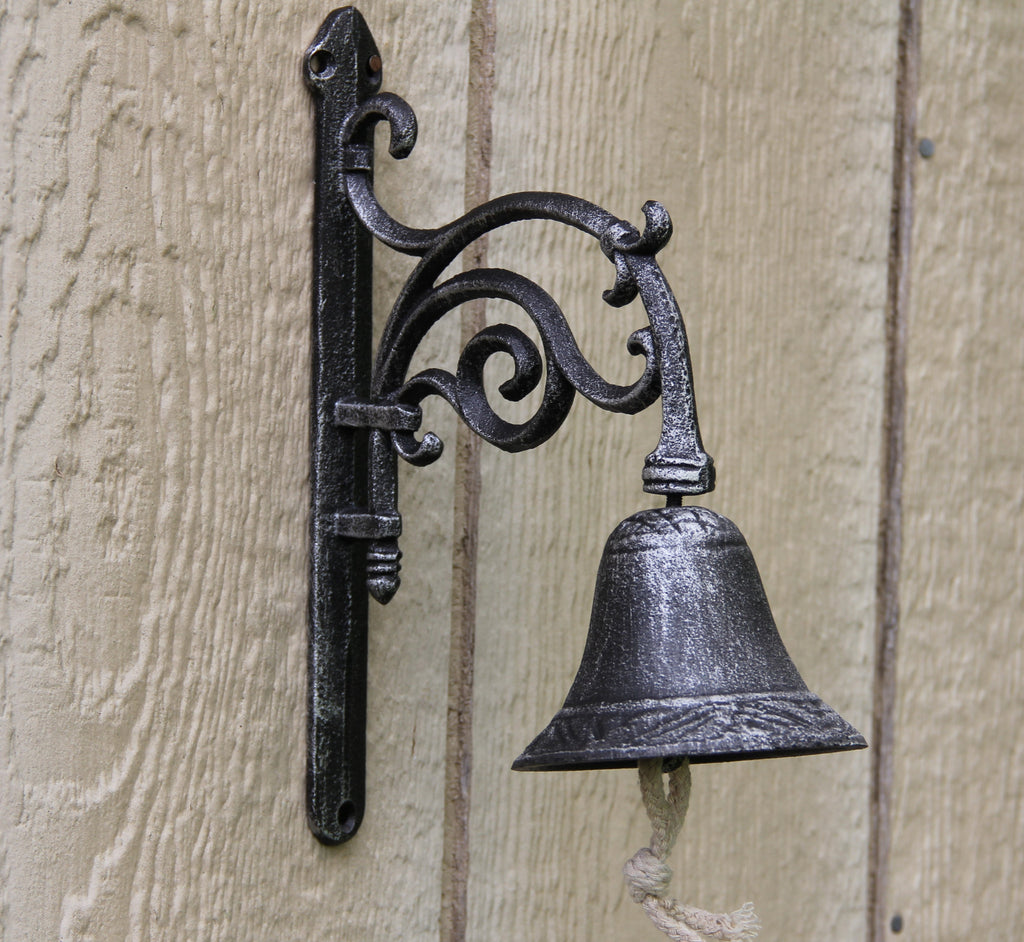 Cast Iron Decorative Garden Bell