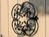 Large Wrought Iron Rossette Pattern