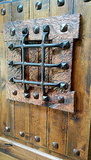 Distressed Iron Speak Easy for Wood Doors or Gates